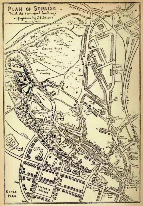 Map of Old Stirling