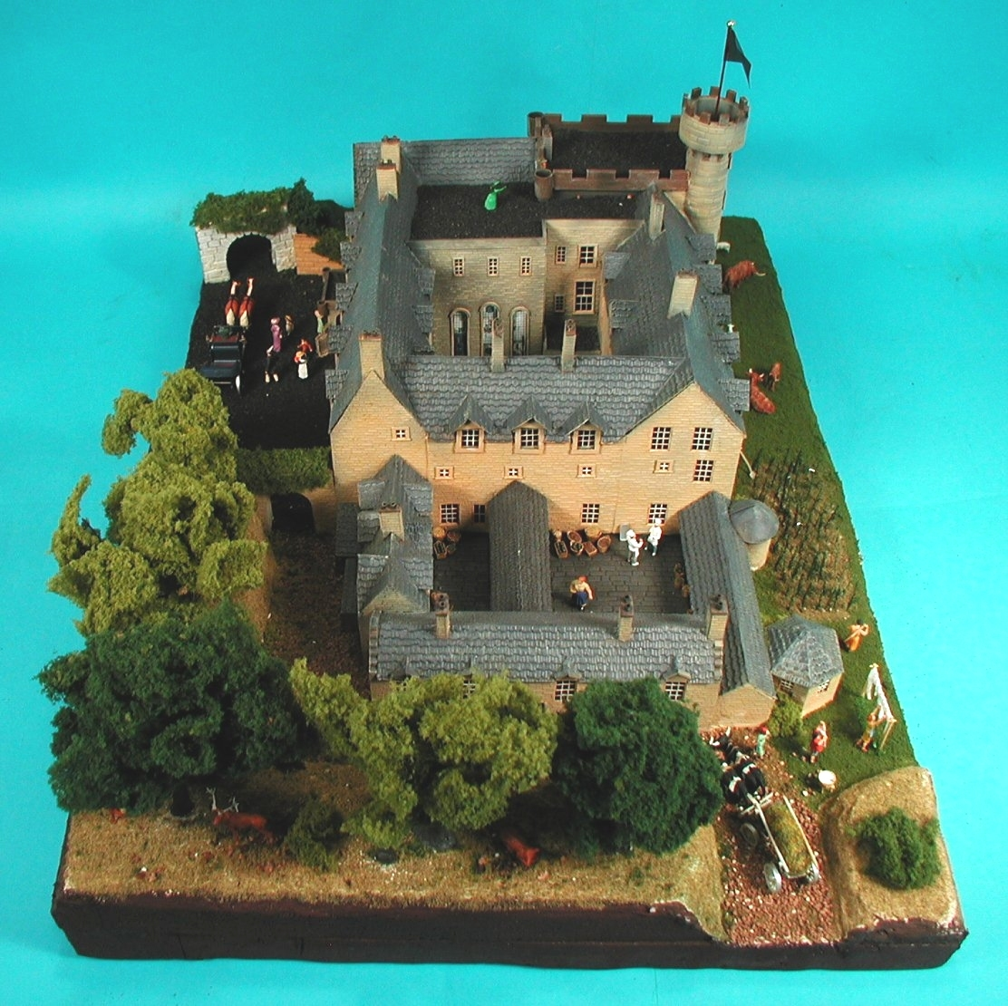 How to Make a Model Castle How to Make a Model Castle new pictures